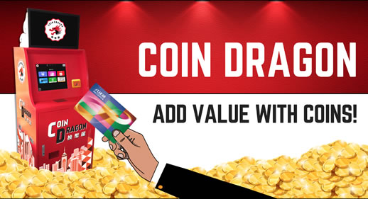 Coin Dragon - Add value with Coins